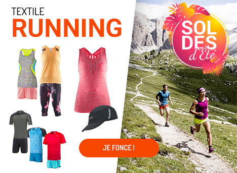 Soldes Textile running